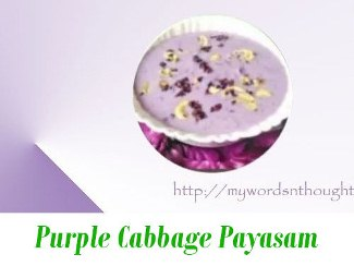 cabbage payasam