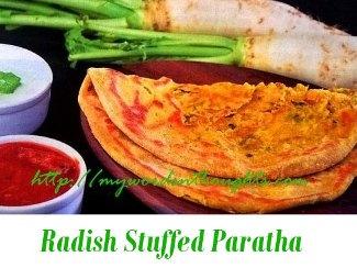 radish chappatti