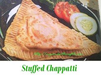 stuffed chappatti