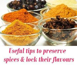 preserve spices