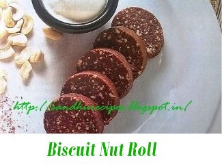 Biscuit Nut Roll