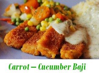 Carrot – Cucumber Baji