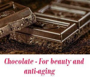 Chocolate beauty and anti-aging