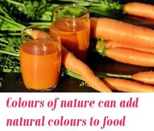 natural colours for food