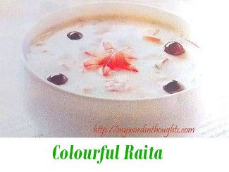 Colourful Raita