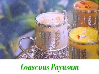 Couscous Payasam