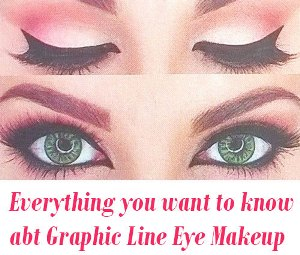 Graphic Line Eye Makeup