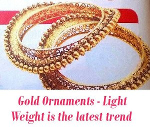 Gold Ornaments trend