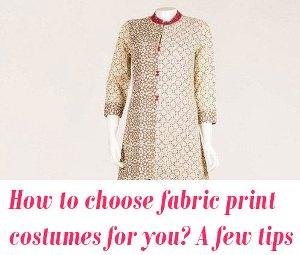 fabric print costumes