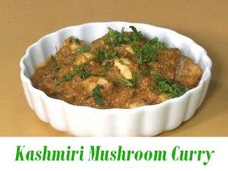 Kashmiri Mushroom Curry