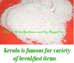 breakfast items kerala