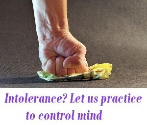 control intolerance