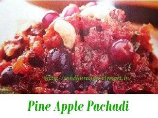 Pine Apple Pachadi