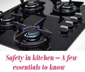 Safety in kitchen