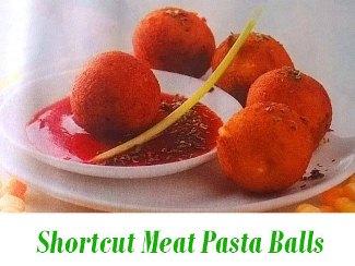 Meat-Pasta Balls