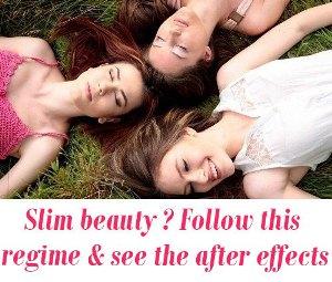 Slim beauty exercises