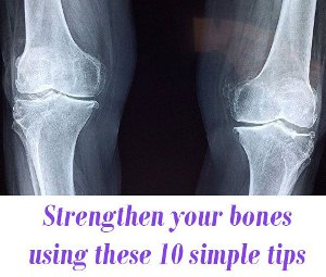 Strengthen your bones tips