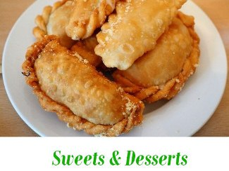 sweets and desserts