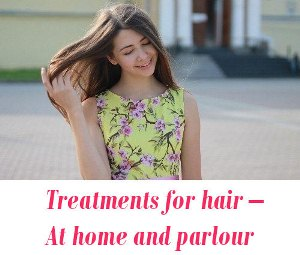 Treatments for hair