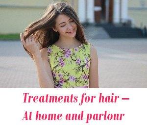 Treatments for hair