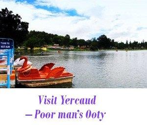 Yercaud tourism