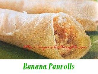 banana pan rolls