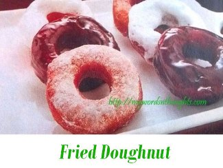 fried doughnut