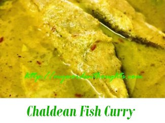 Chaldean Fish Curry