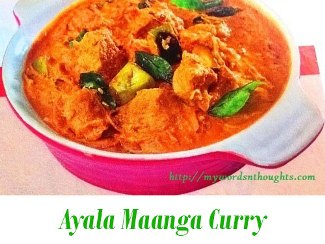 ayala mango curry