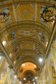 Ceiling of San Sebastian Cathedral