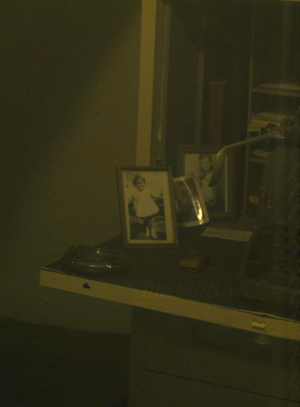 Another desk, an ancient typewriter, and memories of home.