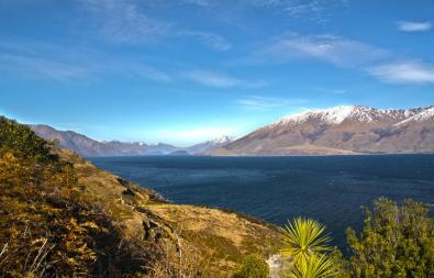 Looking Southwards towards Wanaka area. I don't need to say anything about this pic – it's beautiful.