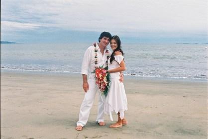 My daughters perfect Wedding Day on the Beach at Wyndham Denarau Resort.