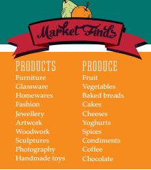 Market finds at Eumundi Markets
