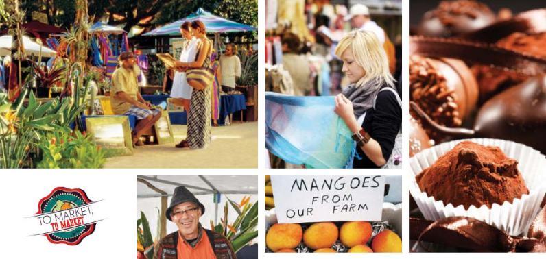 Eumundi markets, Sunshine Coast