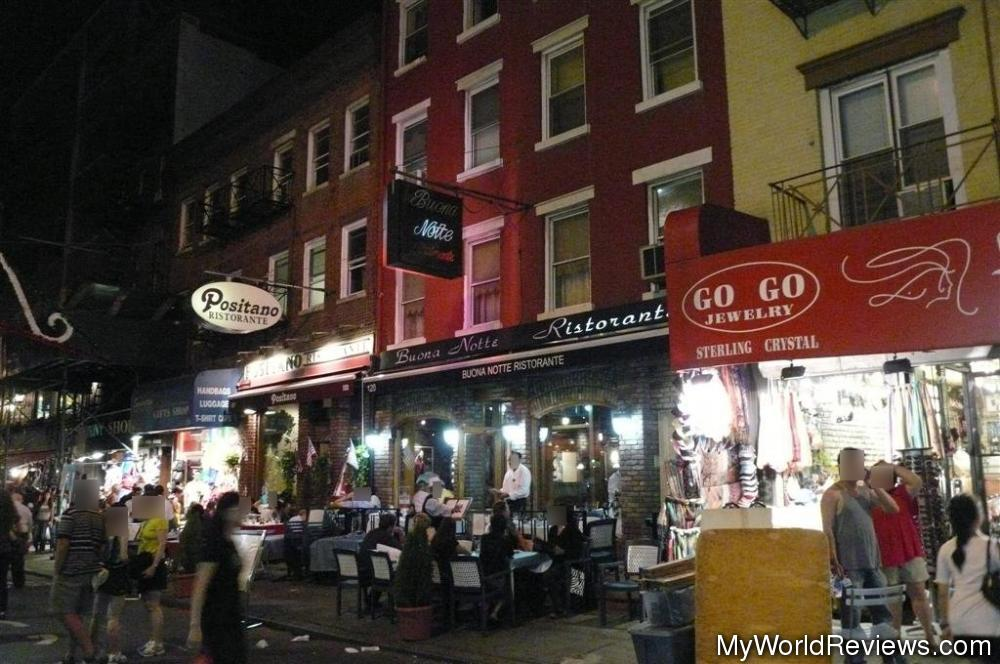 Review of Buona Notte Restaurante at MyWorldReviewscom