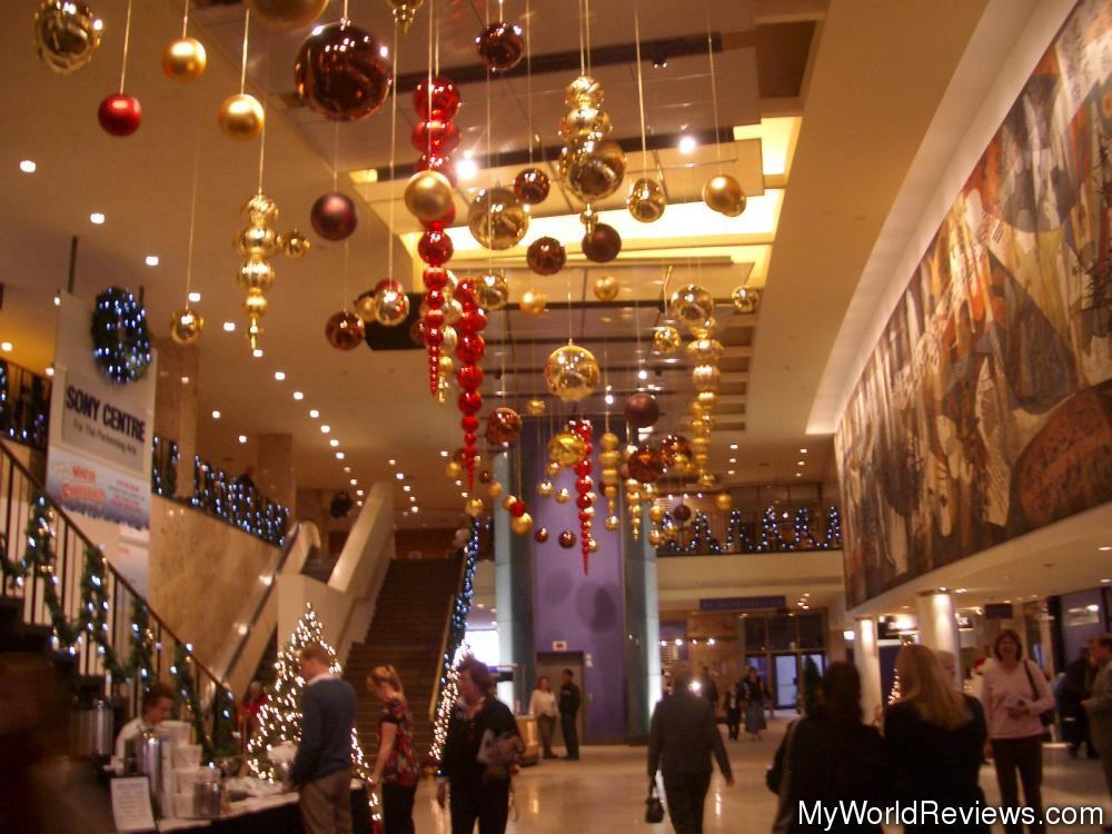 Review of The Sony Centre for the Performing Arts at MyWorldReviewscom