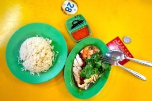 Rezept Hainan Chicken Rice aus Singapur