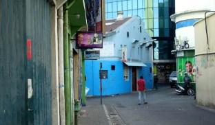 Wir besuchen ein Restaurant im Hafenviertel von Male