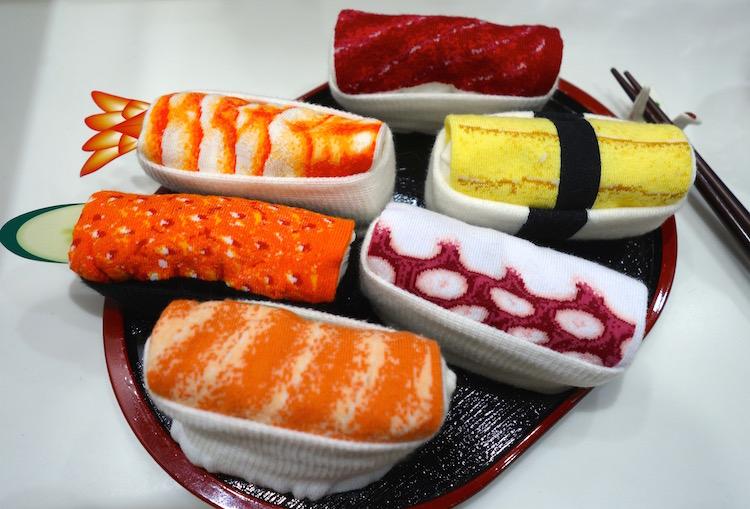 Sushisocke, Sushi, Mitbringsel, Socken