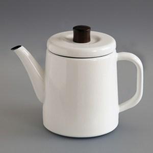 Japanische Teekanne aus Emaille
