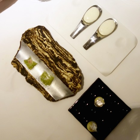 Restaurant Gaggan, Appetizer, Joghurt Explosion