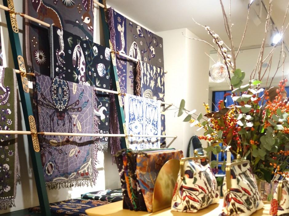 Klaus Haapaniemi, Textilien, London