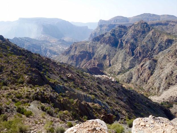 Oman, Bergwelt Jebel Akhdar Gebirge, Oman