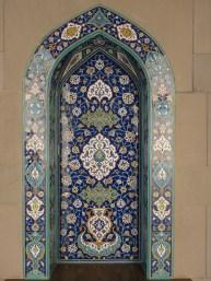 Maskat, Sultan Qaboos Moschee, Mosaik