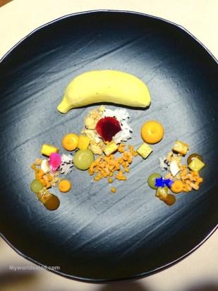 Banane Indisch by Kevin Fehling Michelin Star Chef Hamburg