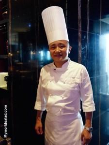 Herr Wo Hoi Ming, Restaurant Yen, Taipei, Taiwan