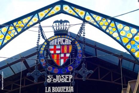 Mercat St.Josep, la Boqueria in Barcelona