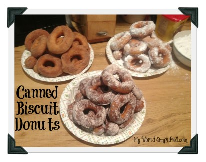 Canned Biscuit Donuts