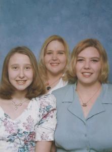 Jenny, Shaunna, and I